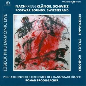 HONEGGER, A.: Symphony No. 3 / LIEBERMANN, R.: Furioso / STRAUSS, R.: Metamorphosen (Lubeck Philharmonic Live, Vol. 1) (Brogli-Sacher) Product Image
