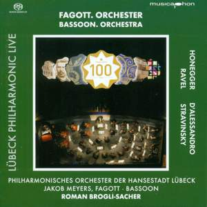 HONEGGER, A.: Symphony No. 1 / ALESSANDRO, R. d': Bassoon Concerto, Op. 75 (Lubeck Philharmonic Live, Vol. 3) (Meyers, Brogli-Sacher)