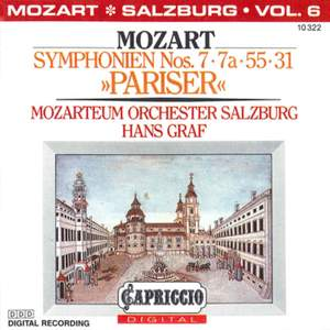 Mozart: Symphonies Nos. 7, 7a, 55, 31, 'Pariser'