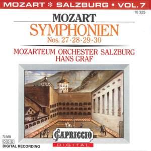 Mozart: Symphonies Nos. 27, 28, 29 & 30
