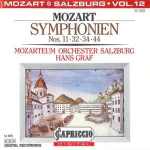 Mozart: Symphonies Nos. 11, 32, 34, 44 Product Image