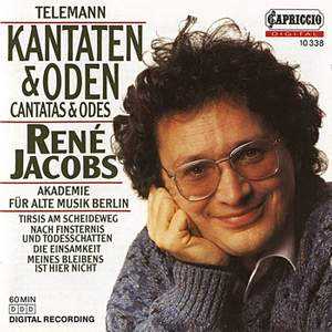 Telemann: Cantatas and Odes Product Image
