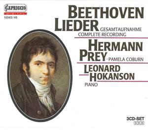 Beethoven: Complete Lieder