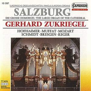 Famous European Organs: The Large Organ of the Cathedral Product Image
