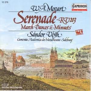 Mozart: Serenade - March, Dances and Minuets