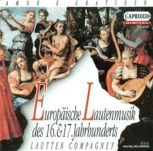 Lute Music (16Th-17Th Centuries) - Dowland, J. / Marchant, J. / Robinson, T. / Heckel, W. / Milano, F. Da / Arpinus, J.