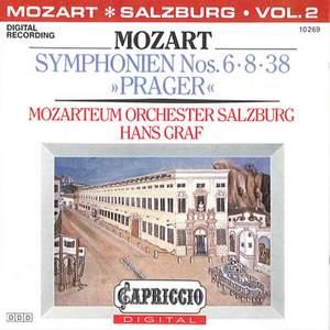 Mozart: Symphonies Nos. 6, 8 & 38