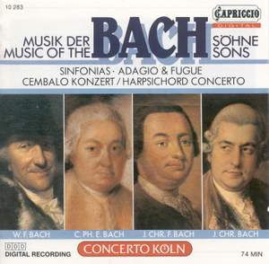 Music of the Bach Sons