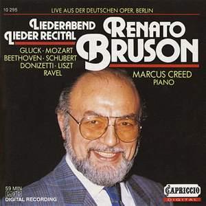 Renato Bruson: Liederabend