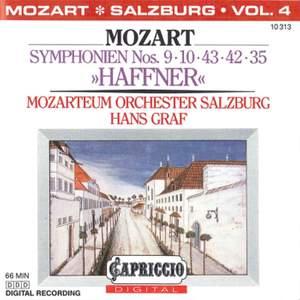 Mozart: Symphonien Nos. 9, 10, 43, 42 & 35, 'Haffner'