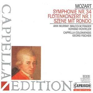 Mozart: Ch'io mi scordi di te, Flute Concerto No. 1 & Symphony No. 34