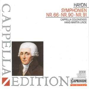Haydn: Symphonies Nos. 66, 90 & 91