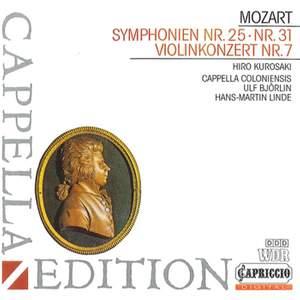 Mozart: Symphonies Nos. 25 & 31