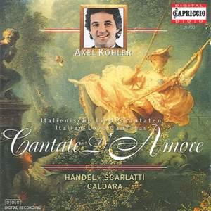 Cantate d'amore: Italian Love Cantatas Product Image
