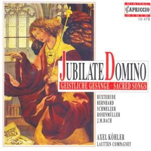 Vocal Music (Sacred) - Tunder, F. / Buxtehude, D. / Rosenmuller, J. / Bach, J.M. / Franck, J.W.