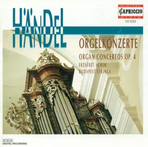 Handel: Organ Concertos, Op. 4 Nos. 1-6, HWV289-294 Product Image