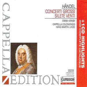 Handel: Concerti Grossi, Opp. 3 & 6, etc