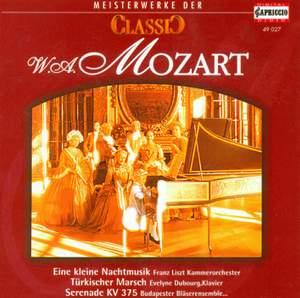 CLASSIC MASTERWORKS - Wolfgang Amadeus Mozart
