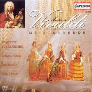 VIVALDI, A.: Concertos for Strings (Budapest Strings)