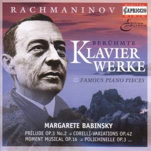 Rachmaninov: Famous Piano Pieces