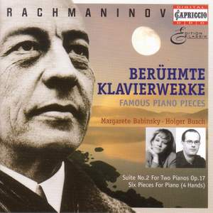 Rachmaninov: Famous Piano Pieces (for four hands)