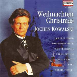 Christmas vocal music by Reichardt, Bach, Neuner, Adam, Gumpelzhaimer, Brahms & Handel