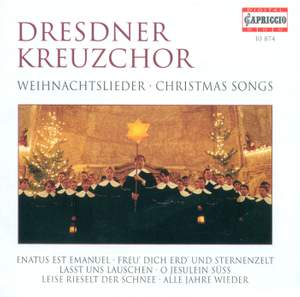 CHRISTMAS SONGS (Dresdner Kreuzchor, Flamig)