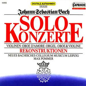 Bach: Solo Concertos