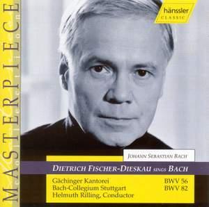 Bach - Cantatas for Baritone Solo BWV 56 and 82