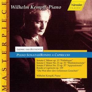 Beethoven: Piano Sonatas Nos. 8, 21 and 23