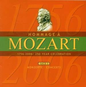 MOZART (A HOMAGE) - 250 YEAR CELEBRATION, Vol. 3 (Concertos)