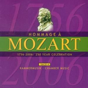 MOZART (A HOMAGE) - 250 YEAR CELEBRATION, Vol. 4 (Chamber Music)
