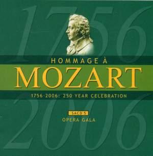MOZART (A HOMAGE) - 250 YEAR CELEBRATION, Vol. 5 (Opera Gala)