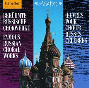 FAMOUS RUSSIAN CHORAL WORKS