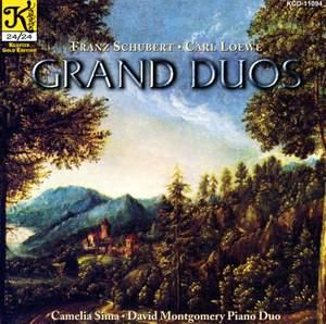 Schubert & Loewe: Grand Duos for Piano 4-hands