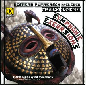 NORTH TEXAS WIND SYMPHONY: Symphonic Excursions