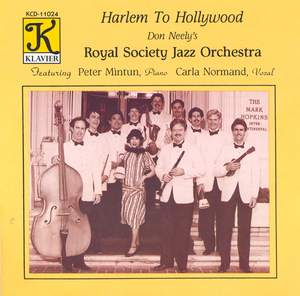 ROYAL SOCIETY JAZZ ORCHESTRA: Harlem to Hollywood