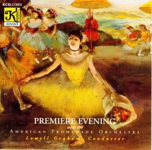 AMERICAN PROMENADE ORCHESTRA: Premiere Evening Product Image