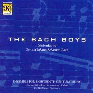 BACH BOYS - Sinfonias by Sons of Johann Sebastian Bach