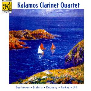 Kalamos Clarinet Quartet: Works for Clarinet Quartet