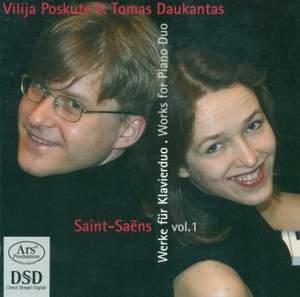 Saint-Saëns: Piano Duos, Vol. 1