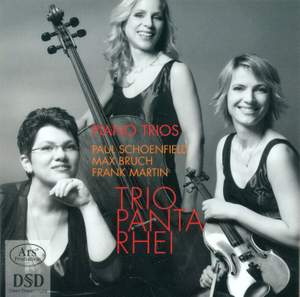 Bruch, Martin and Schoenfield: Works for Piano Trio