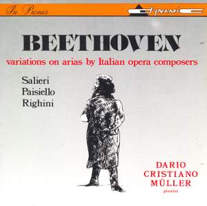 Beethoven: Variations on Arias by Italian Opera Composers