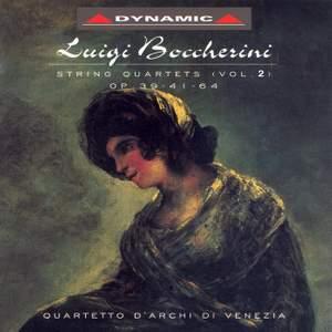 Boccherini: String Quartets, Vol. 2 - Opp. 39, 41, 64