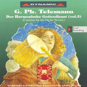 Telemann: Der Harmonischer Gottes-Dienst, Vol. 3
