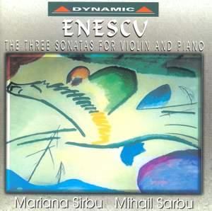 Enescu: Violin Sonatas Nos. 1-3