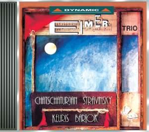 Khachaturian, Stravinsky, Keuris & Bartok: Works for Clarinet Trio