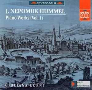 Hummel: Piano Works, Vol. 1