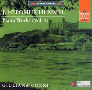 Hummel: Piano Works, Vol. 3