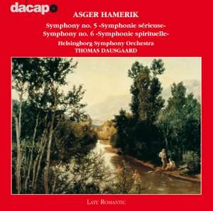 Asger Hamerik: Symphonies Nos. 5 & 6 Product Image